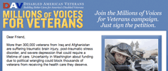 Disabled American Veterans - Millions of Voices for Veterans